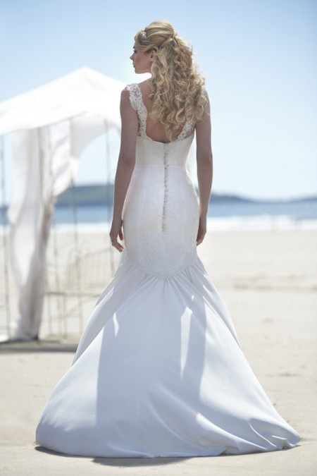 Back of Arianna Wedding Dress - Stephanie Allin Always and Forever 2015 Bridal Collection