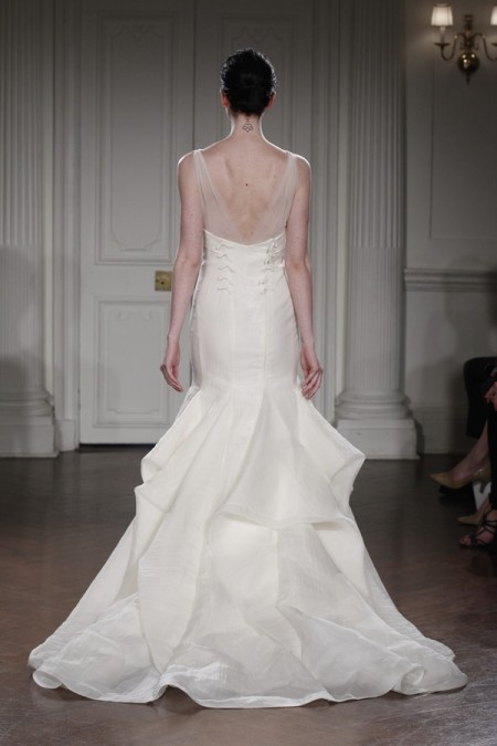 Back of Arpege Wedding Dress - Peter Langner 2015 Bridal Collection