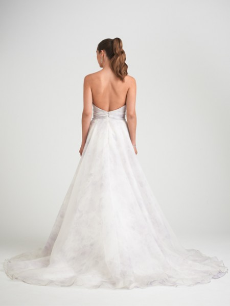 Back of Avignon Wedding Dress - Caroline Castigliano Opera 2015 Bridal Collection