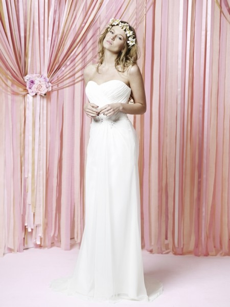 Beatrice Wedding Dress - Charlotte Balbier Iscoyd Park 2015 Bridal Collection