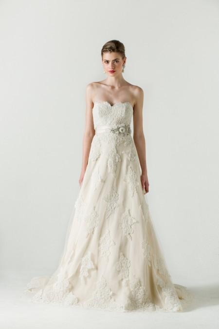 Betrothed Wedding Dress - Anne Barge Spring/Summer 2015 Bridal Collection