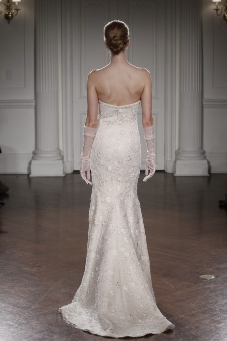 Back of Bibi Wedding Dress - Peter Langner 2015 Bridal Collection