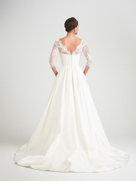 Back of Broadway Wedding Dress - Caroline Castigliano Opera 2015 Bridal Collection