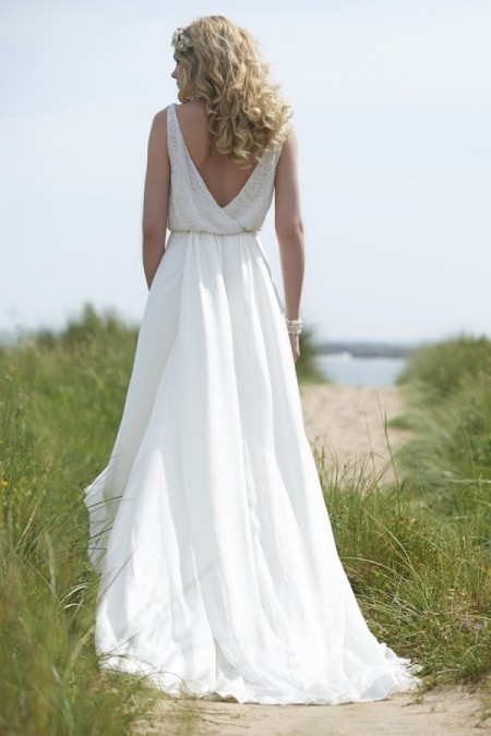 Back of Cameron Wedding Dress - Stephanie Allin Always and Forever 2015 Bridal Collection