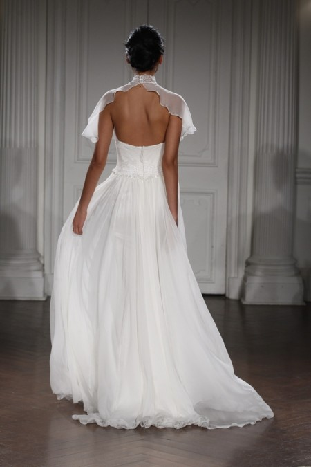 Back of Chantal Wedding Dress - Peter Langner 2015 Bridal Collection