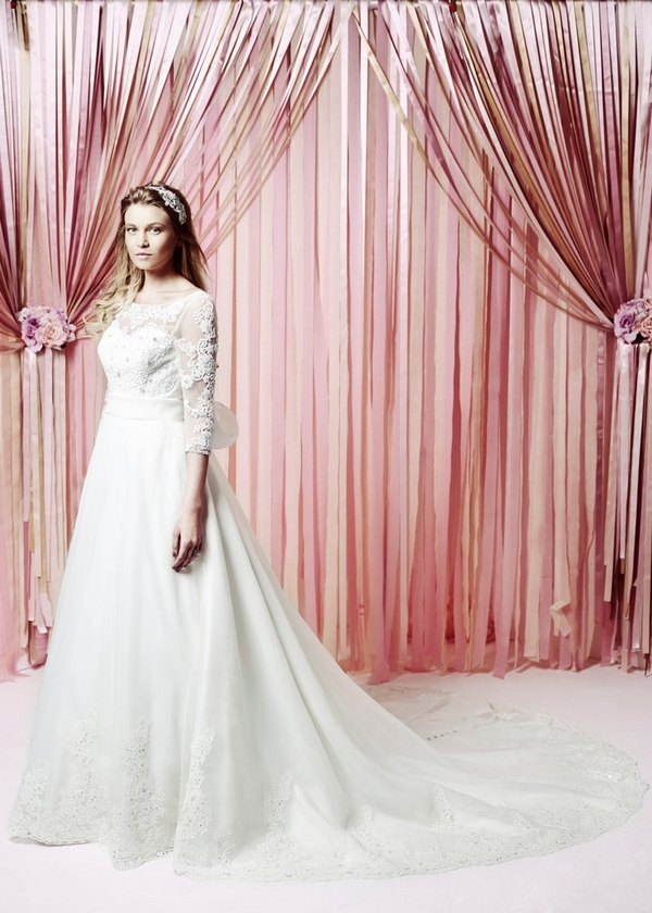 Charlotte Wedding Dress - Charlotte Balbier Iscoyd Park 2015 Bridal Collection