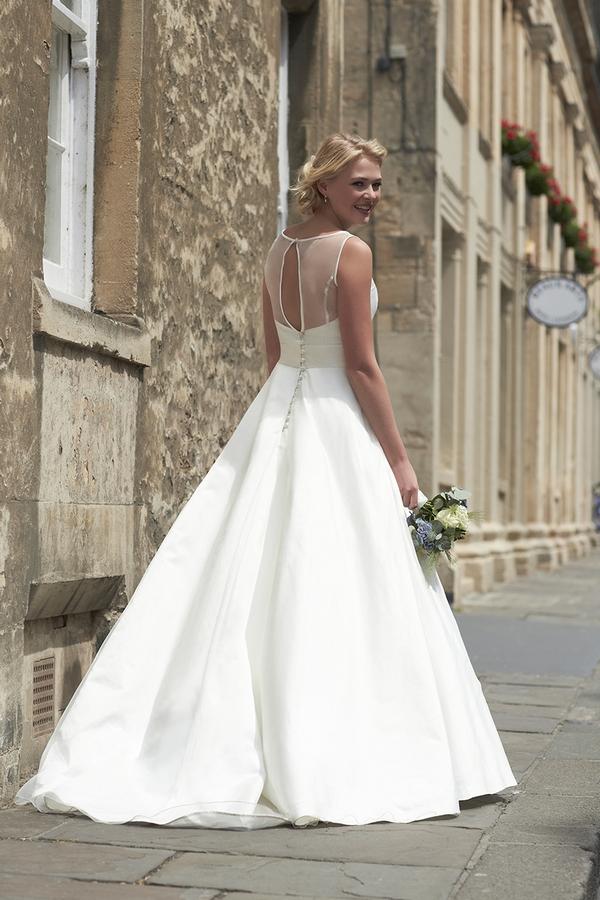 Back of Colette Wedding Dress - So Sassi 2015 Bridal Collection