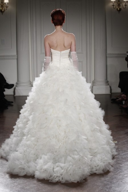 Back of Dalia Wedding Dress - Peter Langner 2015 Bridal Collection