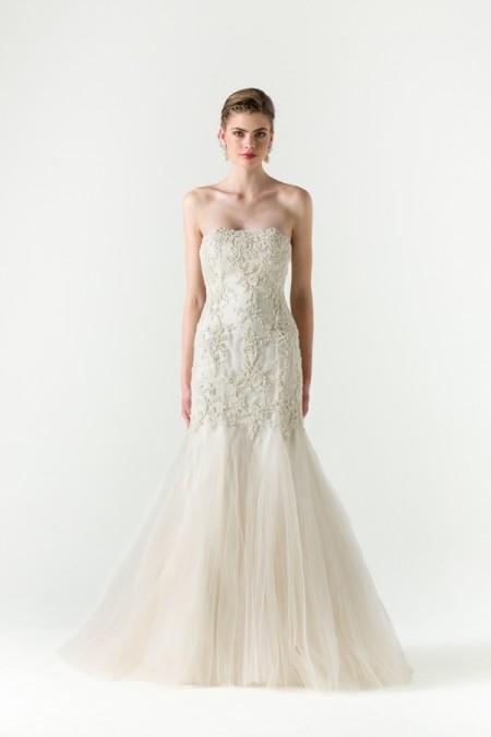 Divine Wedding Dress - Anne Barge Spring/Summer 2015 Bridal Collection