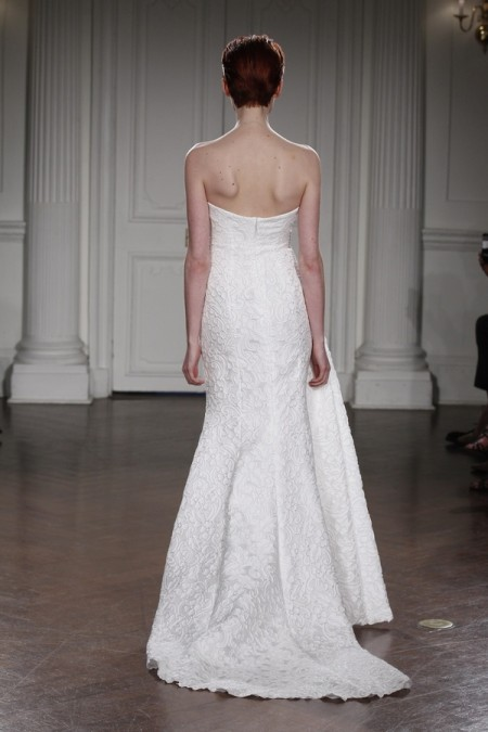 Back of Elisabeth Wedding Dress - Peter Langner 2015 Bridal Collection