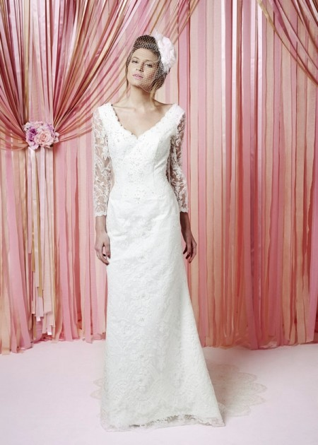Eliza Wedding Dress - Charlotte Balbier Iscoyd Park 2015 Bridal Collection
