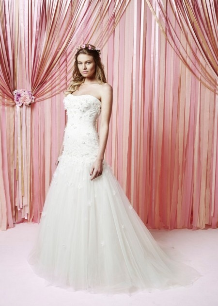 Emelia Wedding Dress - Charlotte Balbier Iscoyd Park 2015 Bridal Collection