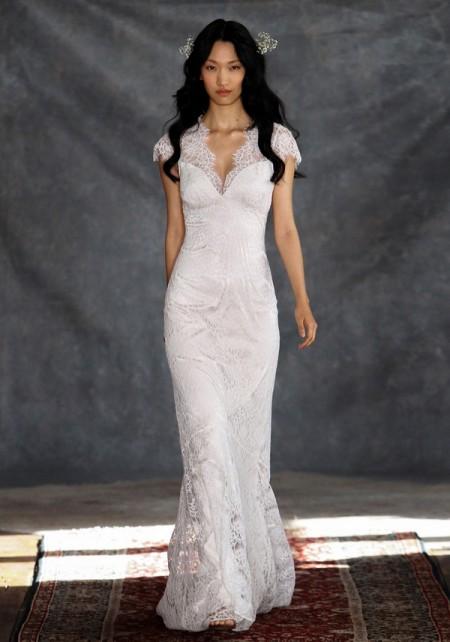 Estelle Wedding Dress - Claire Pettibone Romantique 2015 Bridal Collection