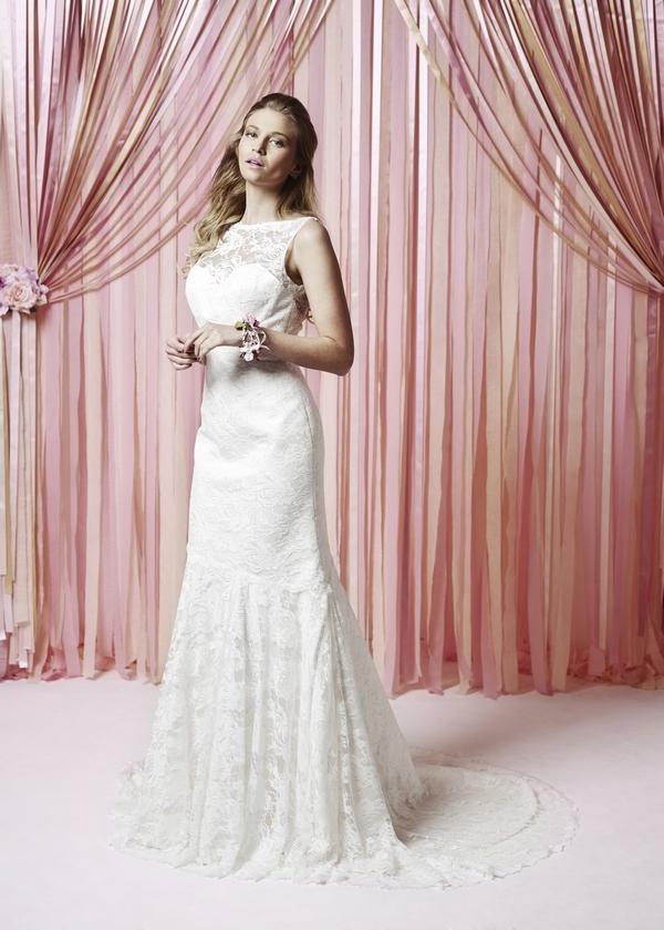 Etienne Wedding Dress - Charlotte Balbier Iscoyd Park 2015 Bridal Collection