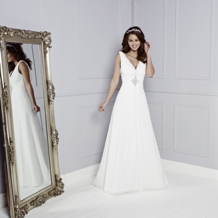 Francesca Wedding Dress - Amanda Wyatt Blue Iris 2015 Bridal Collection