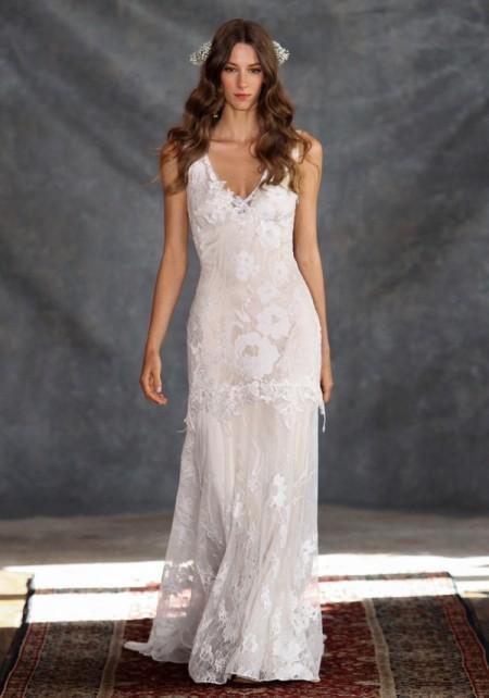 Gardenia Wedding Dress - Claire Pettibone Romantique 2015 Bridal Collection