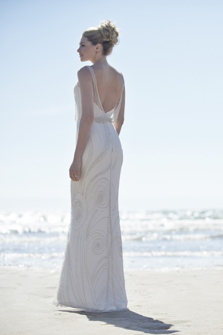Back of Harlem Wedding Dress - Stephanie Allin Always and Forever 2015 Bridal Collection
