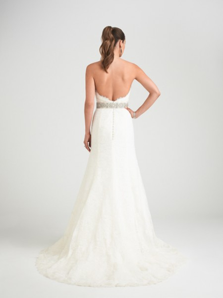 Back of Indianna Wedding Dress - Caroline Castigliano Opera 2015 Bridal Collection