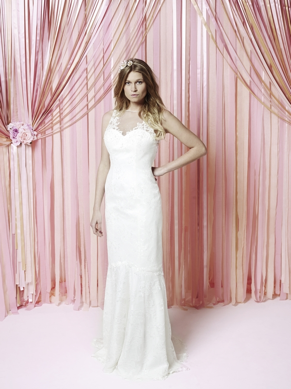 Isadora Wedding Dress - Charlotte Balbier Iscoyd Park 2015 Bridal Collection