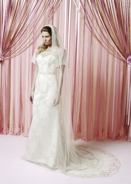 Iscoyd Park Wedding Dress - Charlotte Balbier Iscoyd Park 2015 Bridal Collection