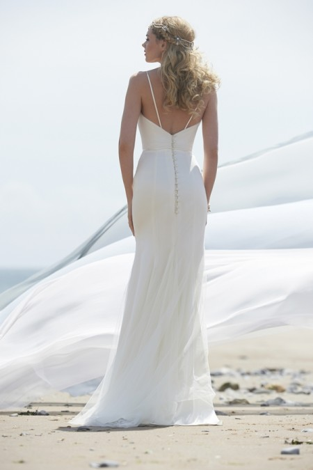 Back of Jazz Wedding Dress - Stephanie Allin Always and Forever 2015 Bridal Collection