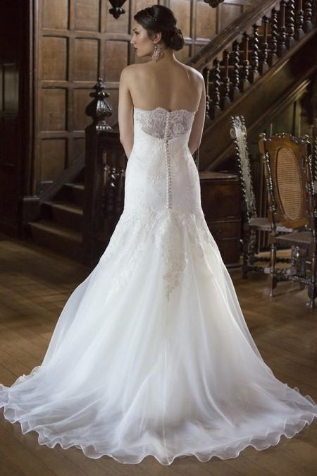 Back of Julia Wedding Dress - Augusta Jones The Hallmark 2015 Bridal Collection