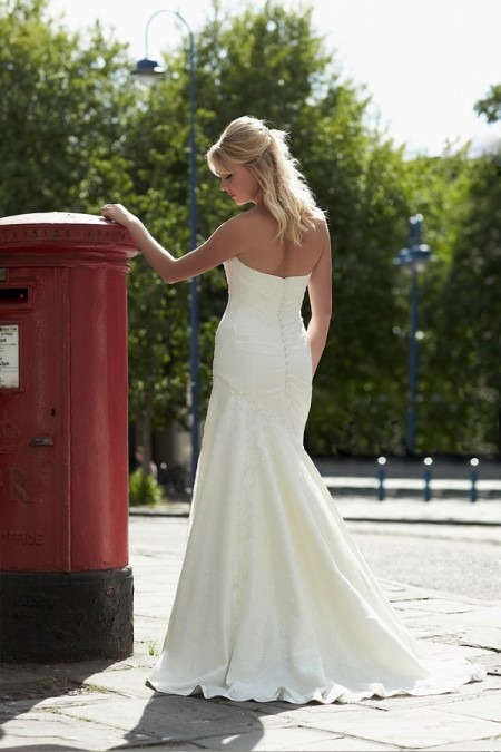 Back of Justine Wedding Dress - So Sassi 2015 Bridal Collection