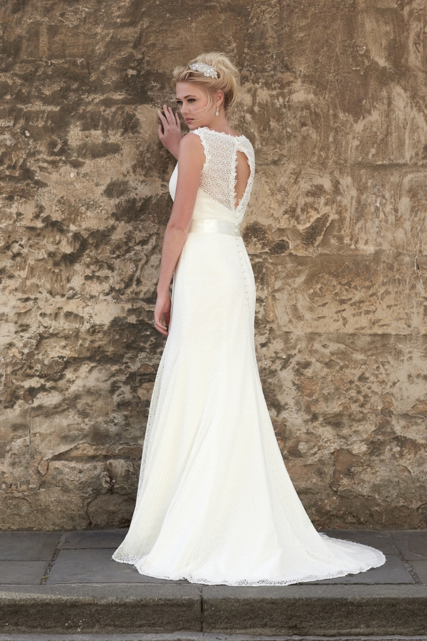 Back of Kitty Wedding Dress - So Sassi 2015 Bridal Collection