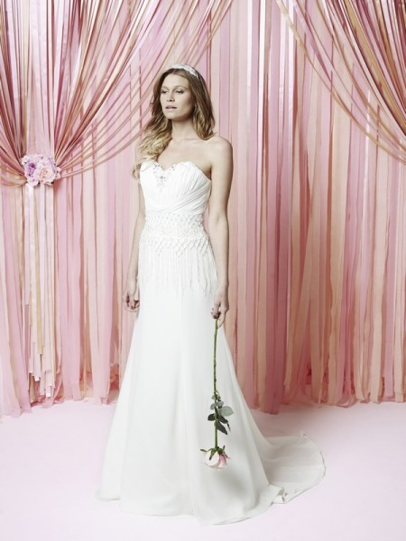 Krystal Wedding Dress - Charlotte Balbier Iscoyd Park 2015 Bridal Collection