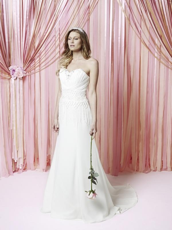 Krystal Wedding Dress - Charlotte Balbier Iscoyd Park 2015 Bridal Collection