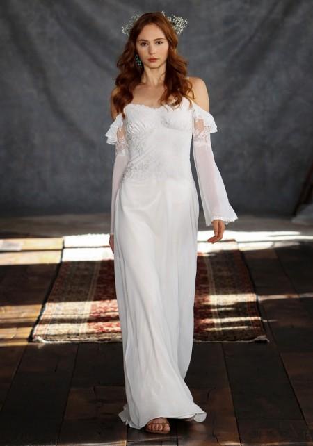 Laurel Wedding Dress - Claire Pettibone Romantique 2015 Bridal Collection
