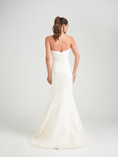 Back of Legend Wedding Dress - Caroline Castigliano Opera 2015 Bridal Collection