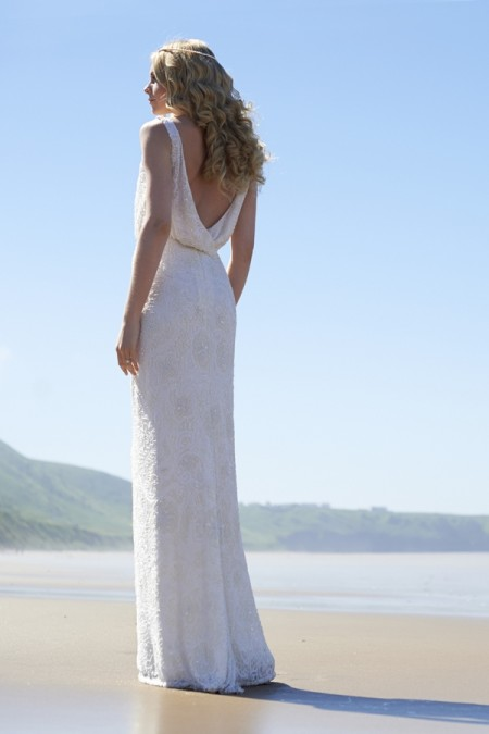 Back of Liberty Wedding Dress - Stephanie Allin Always and Forever 2015 Bridal Collection