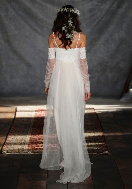 Back of Lilith Wedding Dress - Claire Pettibone Romantique 2015 Bridal Collection