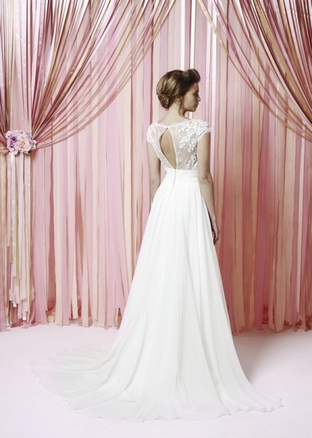Back of Lilly May Wedding Dress - Charlotte Balbier Iscoyd Park 2015 Bridal Collection