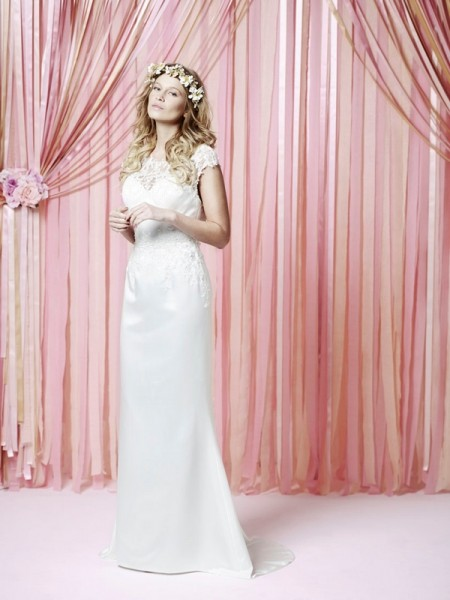 Livsy Wedding Dress - Charlotte Balbier Iscoyd Park 2015 Bridal Collection