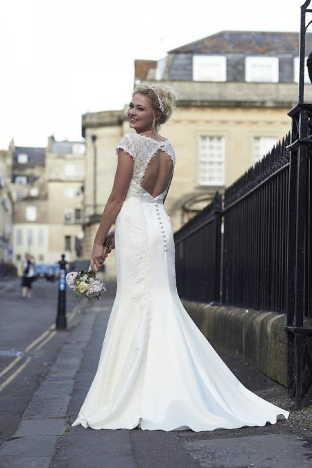 Back of Lola Wedding Dress - So Sassi 2015 Bridal Collection