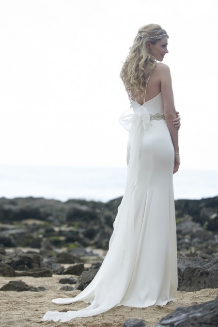 Back of Lottie Wedding Dress - Stephanie Allin Always and Forever 2015 Bridal Collection