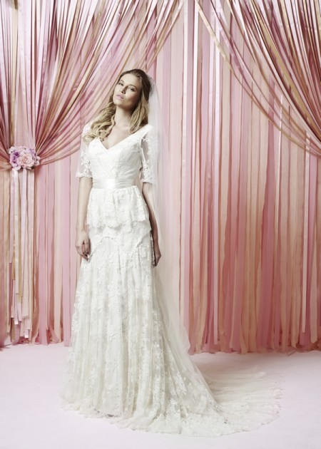 Lucy Wedding Dress - Charlotte Balbier Iscoyd Park 2015 Bridal Collection