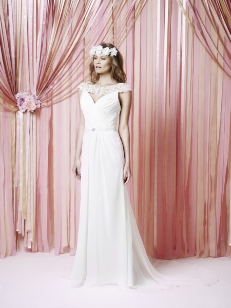Mabel Wedding Dress - Charlotte Balbier Iscoyd Park 2015 Bridal Collection