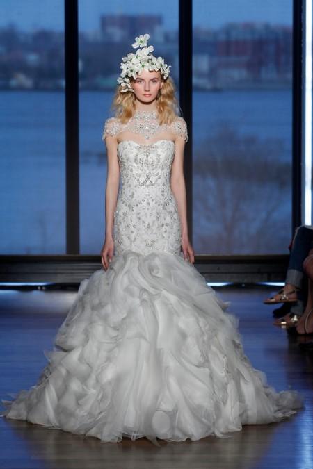 Magda Wedding Dress - Ines Di Santo Spring/Summer 2015 Bridal Collection