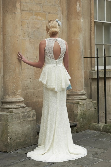 Back of Maisie Wedding Dress - So Sassi 2015 Bridal Collection