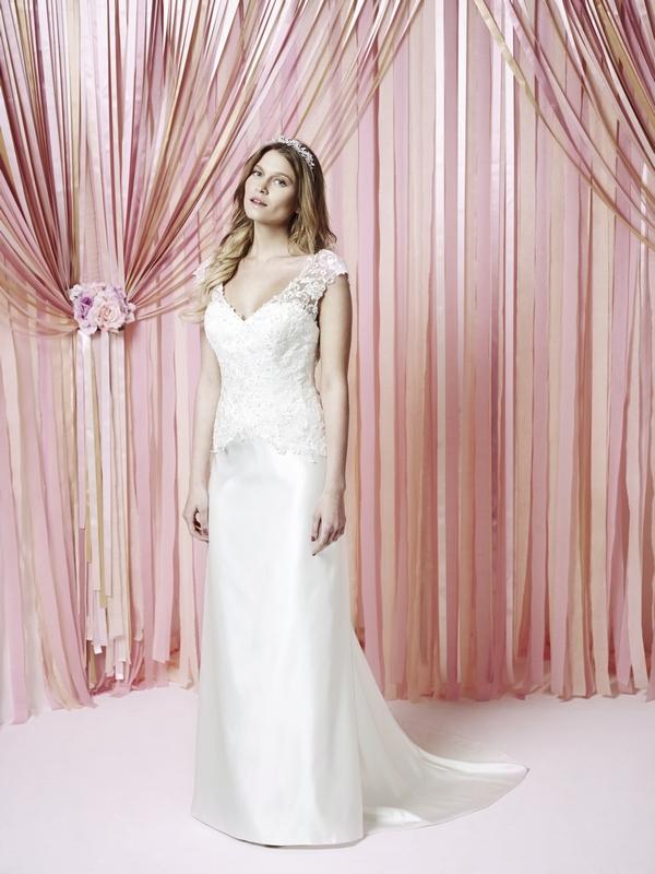 Maisie Wedding Dress - Charlotte Balbier Iscoyd Park 2015 Bridal Collection