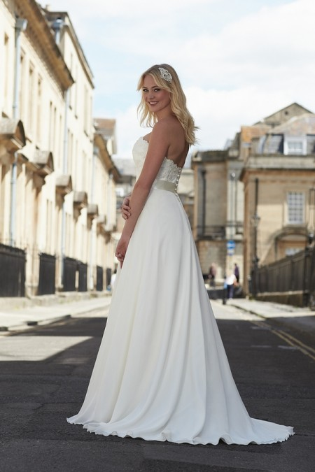 Back of Marcella Wedding Dress - So Sassi 2015 Bridal Collection