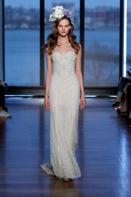 Marlis Wedding Dress - Ines Di Santo Spring/Summer 2015 Bridal Collection
