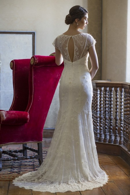 Back of Mary Wedding Dress - Augusta Jones The Hallmark 2015 Bridal Collection