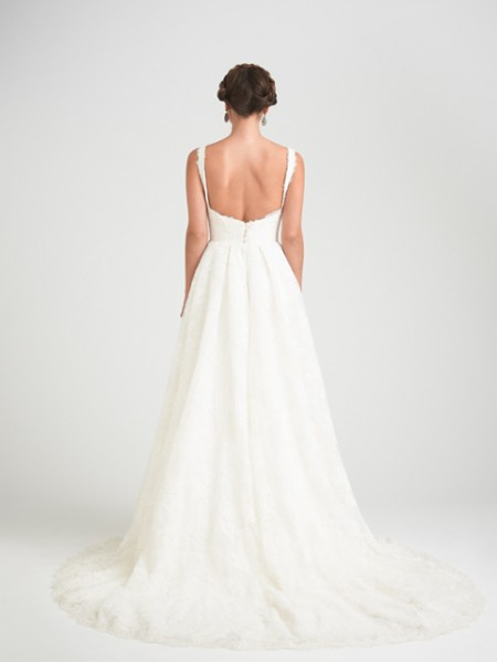 Back of Mesmorizing Wedding Dress - Caroline Castigliano Opera 2015 Bridal Collection
