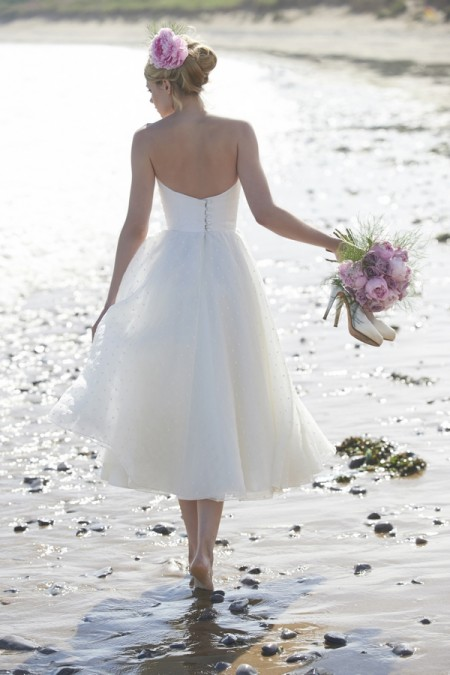 Back of Mimi Wedding Dress - Stephanie Allin Always and Forever 2015 Bridal Collection