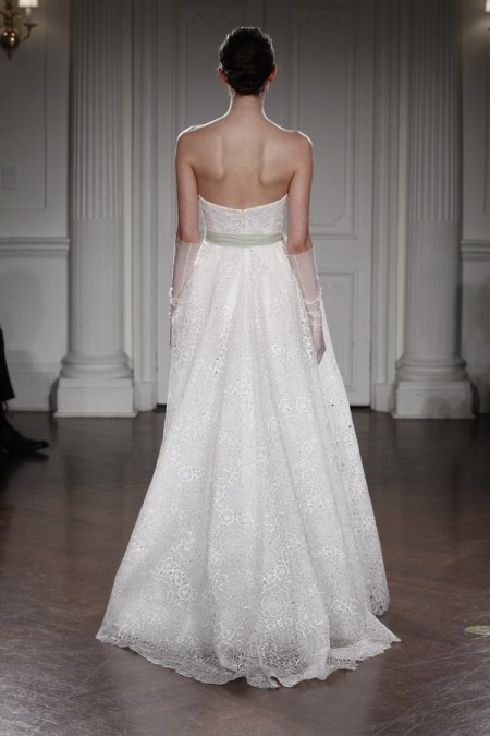 Back of Natalie Wedding Dress - Peter Langner 2015 Bridal Collection