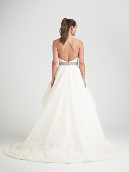 Back of Obsession Wedding Dress - Caroline Castigliano Opera 2015 Bridal Collection